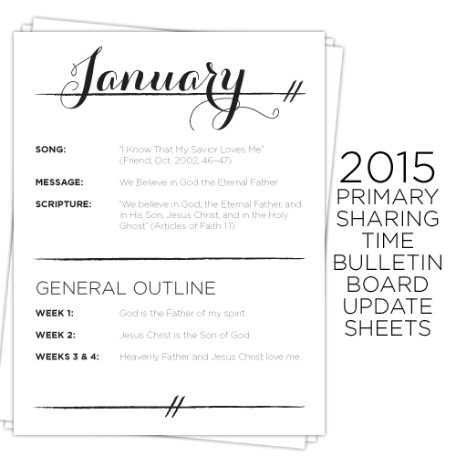 2015-lds-primary-sharing-time-bulletin-board-update-sheets