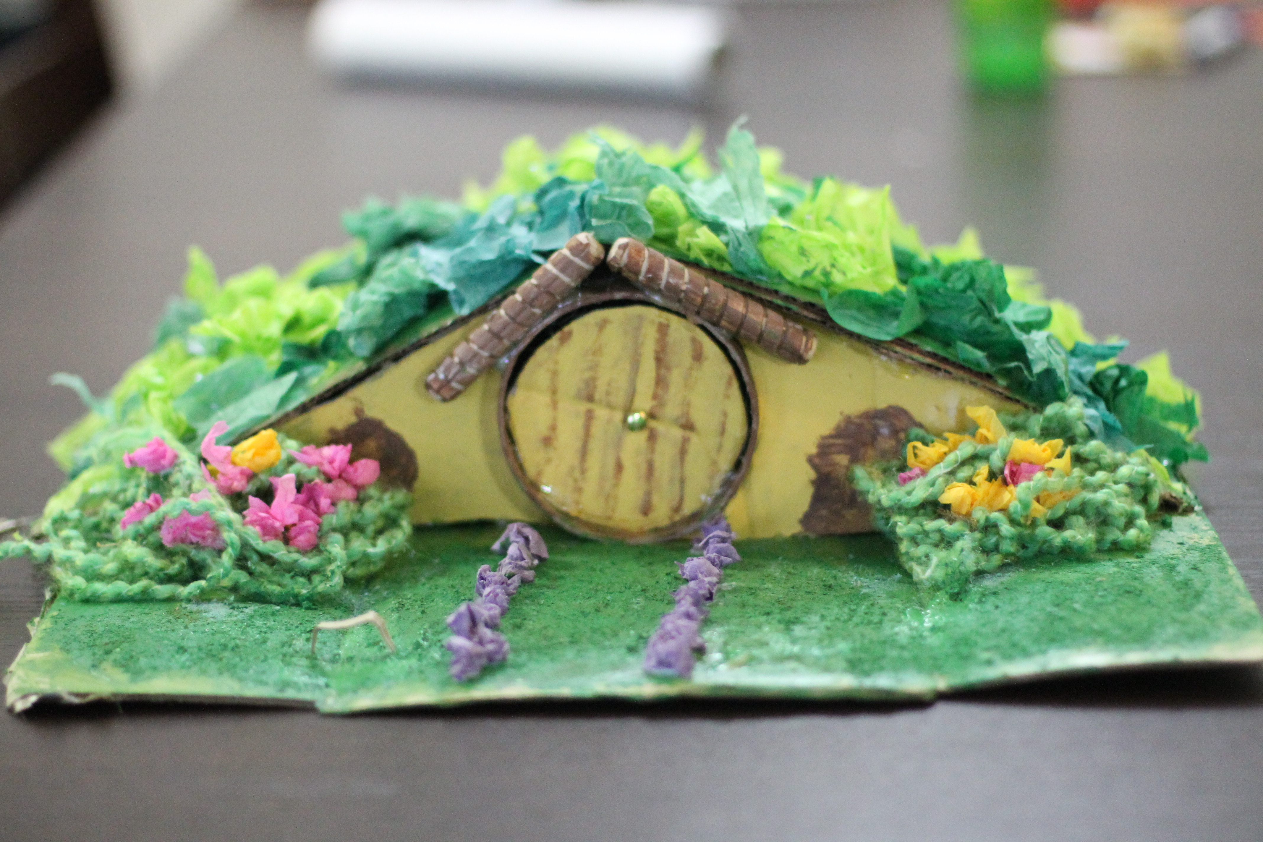 Lord Of The Rings Hobbit House Toddler Mommy Craft
